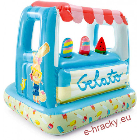 Intex 48672 Hrací centrum Ice Cream s bazénkem 127x102x99 cm