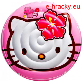 Intex 56513 Matrace kruhová Hello Kitty 137 cm