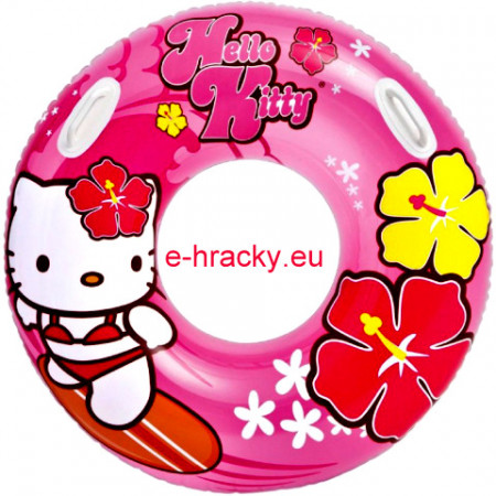 Intex 58269 Kruh Hello Kitty Maxi s úchyty 97 cm